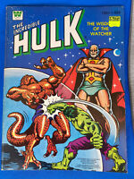 Vintage 1980 Whitman THE INCREDIBLE HULK Coloring Book