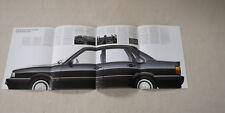 Audi 90 quattro Typ 85 Prospekt Broschüre Pressemappe 1984