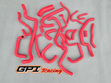 Nissan Silvia/180SX/200SX S13 CA18DET 89-94 Silicone Radiator Heater Hose RED