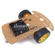**Hobby Components UK** Smart Robot Car Chassis Kit with speed encoder wheels