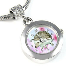 Hedgehog Silver European Bracelet Bead Watch EBA37