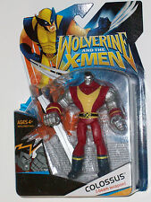 WOLVERINE AND THE X-MEN COLOSSUS FIGURE ANIMATED RARE NEW MARVEL(NOW ALL STATUE1