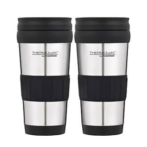 Thermos Genuine Stainless Steel 2pc Vacuum Insulated Tumbler Mug 420ml Flask Cup