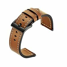 Gear S3 Bands for Samsung Gear S3 Wrinkle Leather Band Replacement Strap