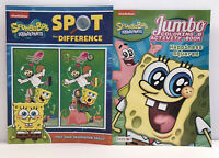 2 SpongeBob SquarePants Gift Set Coloring Activity + Spot The Difference Books