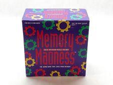 Memory Madness Trivia Game