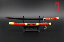 1/5 ONE PIECE Roronoa Zoro Japan Katana Senbonzakura Sword three ghost red 23cm