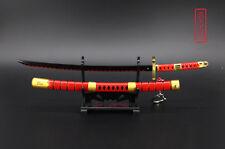 ONE PIECE Roronoa Zoro Japan Katana Senbonzakura Sword three ghost red 23cm