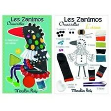 """MOULIN ROTY Kit couture Oiseau """"les zanimos chaussettes"""""""