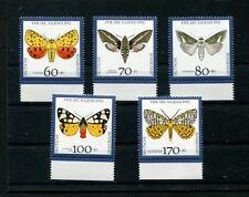 BRD  Nr. 1602 - 1606  postfrisch **   (BRD-81)