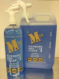 Motorcycle Cleaner, M16 Bumper 5L + 1L, Motocross, ATV,bicycle gets muc off
