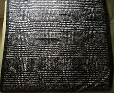 NWT Authentic Sport Max Mara Black/Grey 100% Silk Large Square 90 x 90 cm Scarf