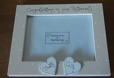 """Personalised congratulations on your retirement  photo Frame 7x5"""" gift keepsake"""