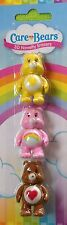 3 CARE BEARS 3D ERASERS RUBBER KIDS GIRLS GIFT CUTE KAWAII RETRO 8Os SCHOOL RARE