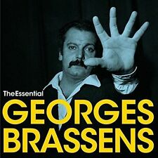 The  Essential by Georges Brassens (CD, Nov-2015, 2 Discs, Jackpot)
