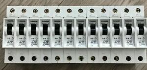 12 Stück Siemens B16A  Sicherungsautomat B16 LS  niedrige Bauform 55mm 5SX21