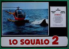 T54 FOTOBUSTA LO SQUALO 2 ROY SCHEIDER LORRAINE GARY MURRAY HAMILTON