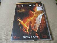 """DVD """"CRY WOLF"""" film d'horreur de Jeff WADLOW"""
