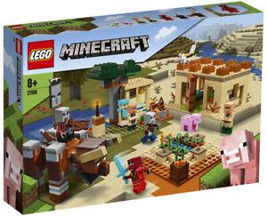Lego® Minecraft Der Illager-Überfall 21160 NEU & OVP