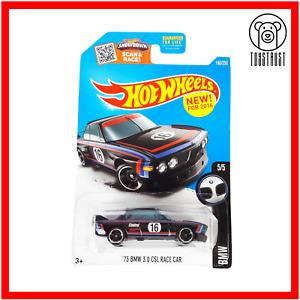 BMW 3.0 CSL Race Car 73 HW BMW 5/5 190/250 Collectible Diecast Hot Wheels Mattel