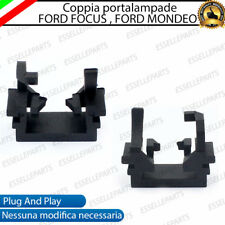 COPPIA ADATTATORI PORTALAMPADE KIT LED H1 PER FORD FOCUS, FORD MONDEO