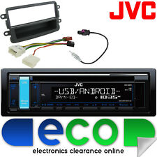 DACIA DUSTER 12-15 JVC CD MP3 USB AUX iPod stereo auto radio kit di montaggio DC02