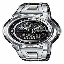 Casio aqf-102wd -1 BVEF Herren Analog & Digital Quarz Multifunktion Armbanduhr mit Stahl