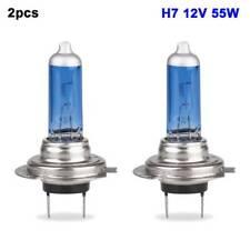 2pcs H7 12V 50W Super Bright White Light Halogen Headlights Auto Bulb Car Lamp