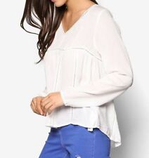 Lace Evening, Occasion Long Sleeve Regular Tops & Blouses for Women