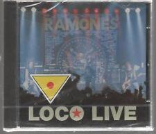 RAMONES LOCO LIVE CD SIGILLATO!!!
