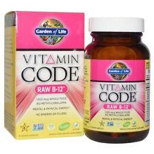 Garden of Life Vitamin Code Raw B-12 30 Vegan Caps
