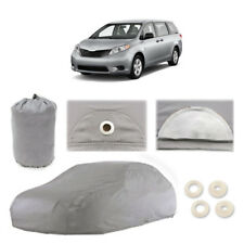 Toyota Sienna 5 Layer Car Cover Fitted Outdoor Water Proof Rain Snow Sun Dust