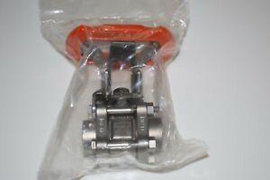 "Swagelok SS-L63TF8-LLK ball valve ss316 1/2"" NPT, new in box, 1-year warranty"