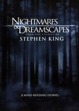 Nightmares & DREAMSCAPES Stephen King 8 Stories 3 DVD R4