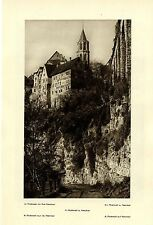 In Rottweil am Neckar* Gasthaus zum Löwen* Historisches Bilddokument 1925