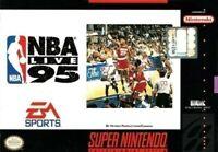 Nintendo SNES Spiel - NBA Live '95 mit OVP