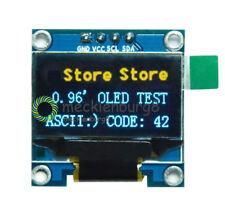 "0.96"" 128X64 OLED I2C IIC Serial Yellow Blue LCD LED Display Module for Arduino"