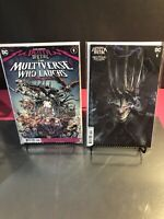 DARK NIGHTS: DEATH METAL THE MULTIVERSE WHO LAUGHS 1 & 1:25 VARIANT NM