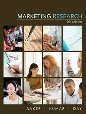 Marketing Research by David A. Aaker, V. Kumar, George S. Day