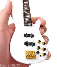 Miniature Guitar Nathan East FourPlay White Bass Signature