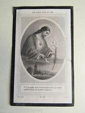 IMAGE d' AVIS MORTUAIRE : Gabrielle LE MOINE, 1884.