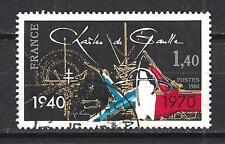France 1980 Charles de Gaulle n° 2114 oblitéré 1er choix (1)