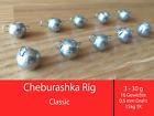 Cheburashka Wechselblei 3-30g Jig Kugelblei flexibel Bottom Jigging cheburaschka