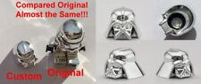 LEGO DARTH VADER HELMET CHROME SILVER GENUINE CUSTOM HIGHEST QUALITY MONOCHROME