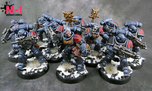 Warhammer 40k Space Wolves Primaris Intercessors M1 painted