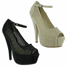 Unbranded Stiletto Heel Ankle Straps for Women