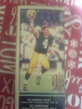 Super Bowl XXXI 10th Anniversary Brett Favre Special Edition Figurine