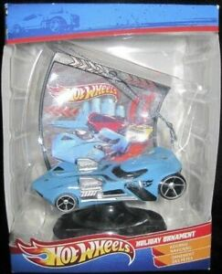 Hot Wheels Race Car Ornament from 2011 * Rare 3D * 4 Colors * FREE USA SHIPPING!