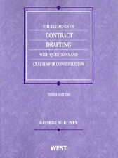 The Elements of Contract Drafting with Questions Clauses 3rd Edition Paperback