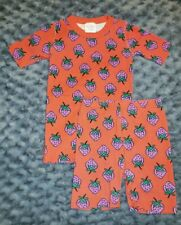 VGUC Hanna Andersson Girl Clothes 140 Size 10 Organic Cotton 2 Piece Pajama Set